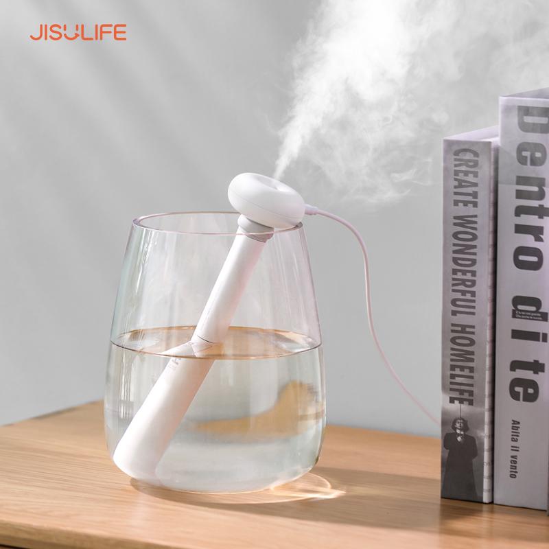 Máy phun sương, tạo ẩm, cấp ẩm không khí và tỏa hương tính dầu mini Doughnut Jisulife JT06
